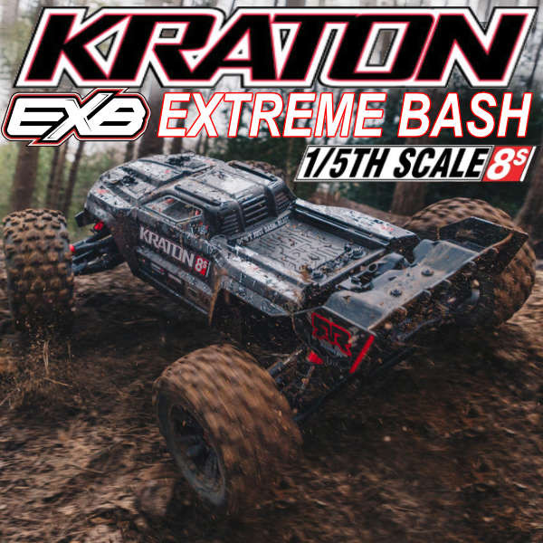 Arrma Kraton Extreme Bash Roller 8S NOW in stock