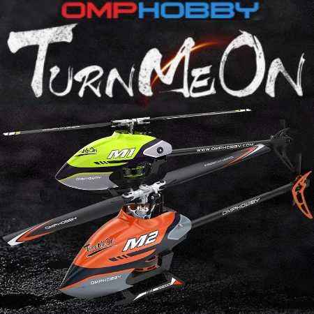 New OMP Helicopters now in stock
