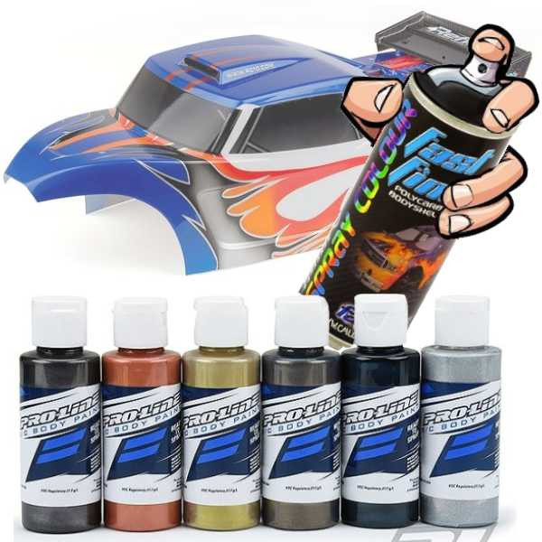 Painting Lexan Body