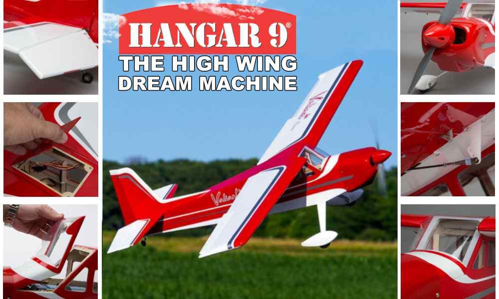 Hangar 9 Valliant 10cc The High Wing Dream Machine
