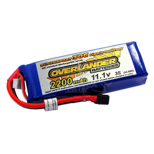 OverLander Batteries | LIPO Batteries