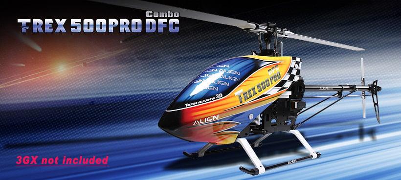 Align trex 500E Pro