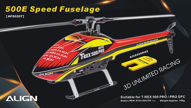 500 Speed Fuselage