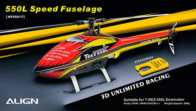 550 Speed fuselages