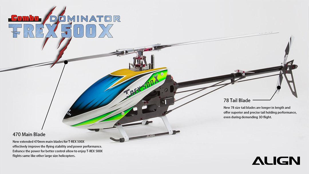 Align Trex 500X