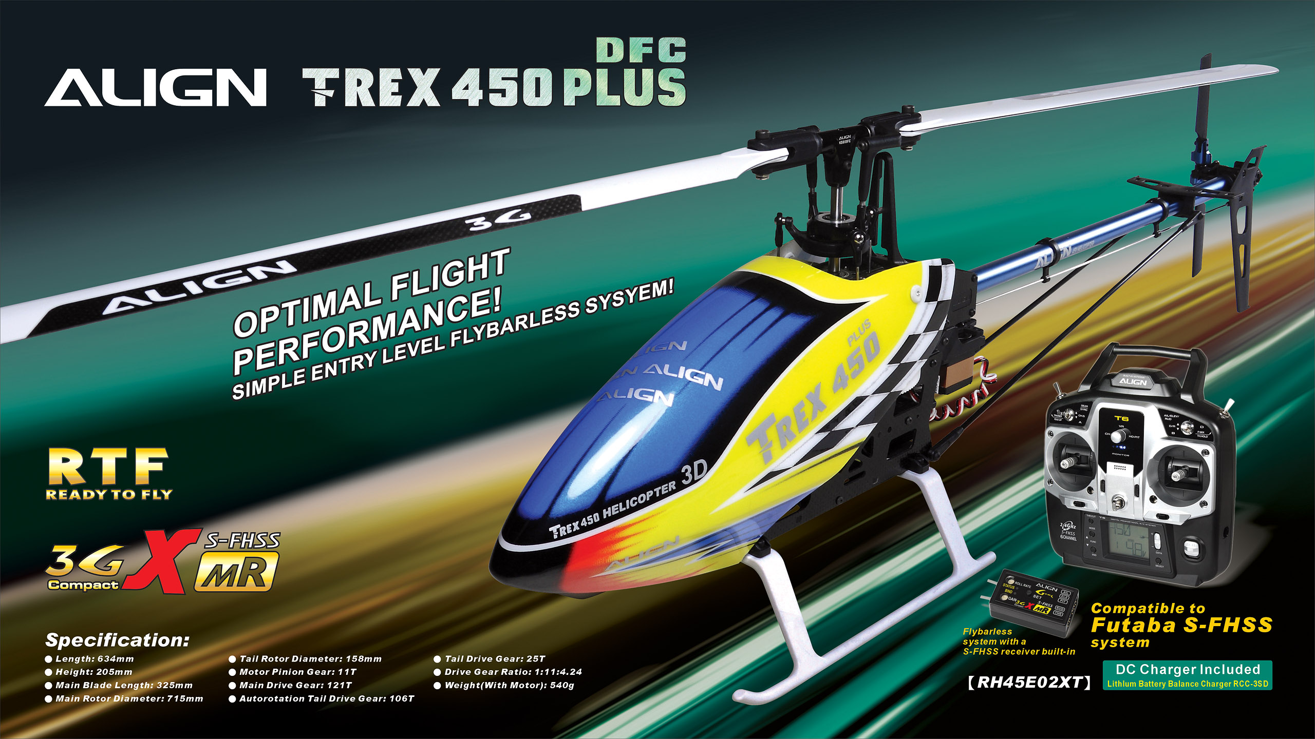Ready to Fly Model helicopters | Model Helicopter Kits