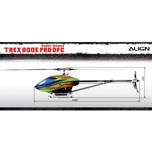 Align Trex 800 PRO DFC Spares