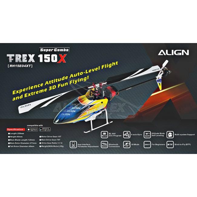 Align Trex 150X Spares
