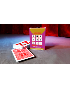 Invisible Deck Bicycle (Red) by Murphys Magic (Playing Cards)