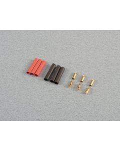 3.5mm Gold Connector Set 3prs O-FS-GC03/03