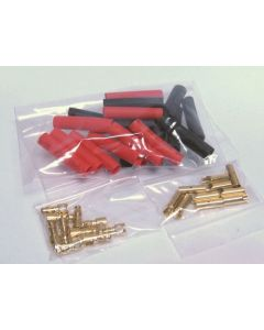 3.5mm Gold Connector Set 10prs O-FS-GC03/10