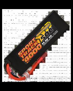 4000mAh 3S 11.1v 50C LiPo Battery in Hard Case - Overlander Sport Track